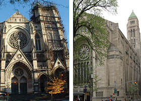 St. John the Divine and Temple Emanu-El