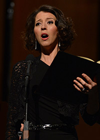 Lisette Oropesa singing the St. John Passion