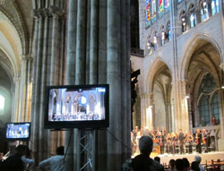 Filming of St. Matthew Passion