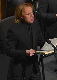 John Tessier singing the St. John Passion
