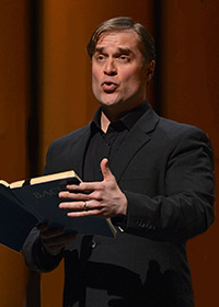 Lawrence Zazzo singing the St. John Passion